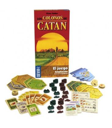 Catan (El Juego - Ampliación para 5 y 6 Jugadores)