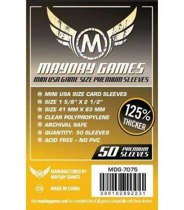 Fundas Mayday Mini USA (41x63mm) PREMIUM (50)