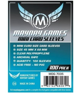 Fundas Mayday Mini Eurogame (45x68mm) (100)