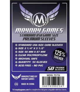 Fundas Mayday USA (56x87mm) PREMIUM (50)