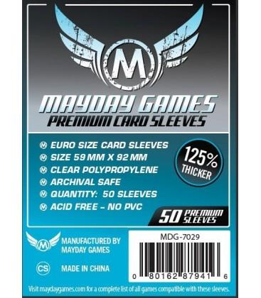 Fundas Mayday Eurogame (59x92mm) PREMIUM (50)