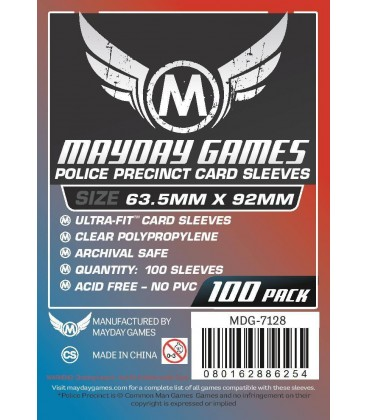 Fundas Mayday Police Precinct (63,5x92mm) (100)