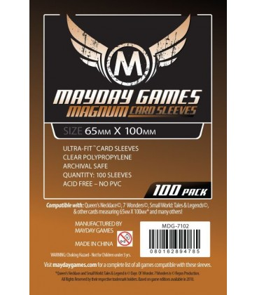 Fundas Mayday Magnum (65x100mm) (100) - 7 Wonders