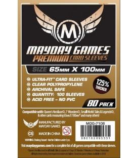 Fundas Mayday Magnum (65x100mm) PREMIUM (80) - 7 Wonders
