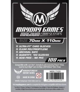 Fundas Mayday Magnum (70x110mm) (100) - Exploradores
