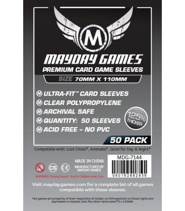 Fundas Mayday Magnum (70x110mm) PREMIUM (50) - Exploradores