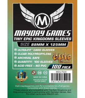 Fundas Mayday Tiny Epic Kingdoms (88x125mm) (100)
