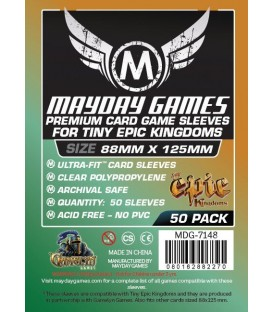 Fundas Mayday Tiny Epic Kingdoms (88x125mm) PREMIUM (50)
