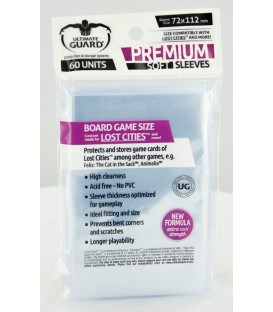 Fundas Ultimate Guard (72x112mm) PREMIUM - Exploradores (60)