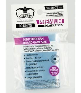 Fundas Ultimate Guard (46x71mm) PREMIUM - Mini Euro (50)