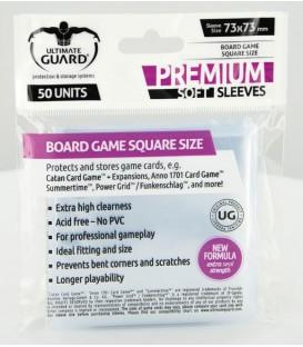 Fundas Ultimate Guard (73x73mm) PREMIUM - Cuadrado (50)