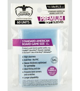 Fundas Ultimate Guard (59x91,5mm) PREMIUM - American (60)