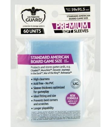 Fundas Ultimate Guard (59x91,5mm) PREMIUM - American (60)
