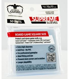 Fundas Ultimate Guard (73x73mm) SUPREME - Cuadrado (50)