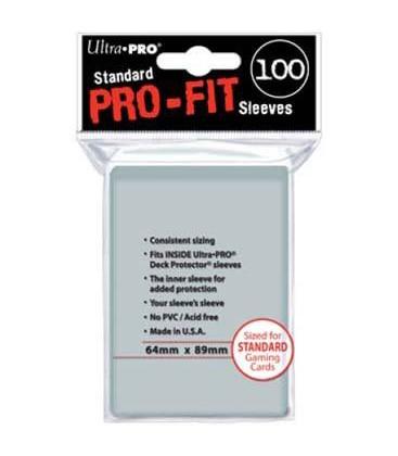 Fundas Ultra Pro-Fit Standard (64x89mm) (100)