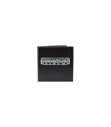 Mini Álbum Negro con hojas 9 Bolsillos