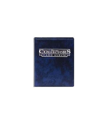 Mini Album Azul Collectors 4 Bolsillos Con Hojas