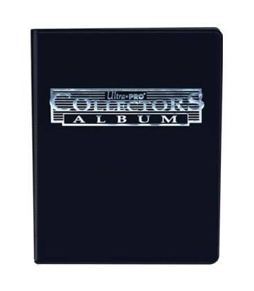 Mini Album Negro Collectors 4 Bolsillos Con Hojas