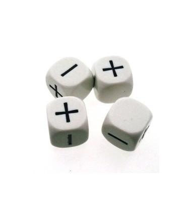 Bolsa 4 Dados Fudge (Blanco)