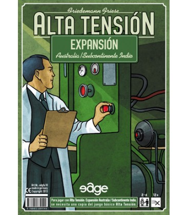 Alta Tensión: Expansión Australia / Subcontinente Indio