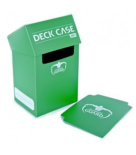 Deck Case 80+ Verde Ultimate Guard