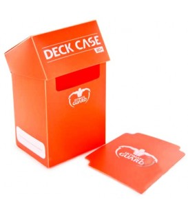 Deck Case 80+ Naranja Ultimate Guard