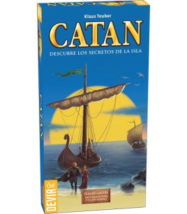 Catan Expansión: Navegantes (Ampliación para 5 y 6 Jugadores)