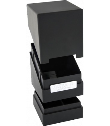Monolith Deck Case 100+ Negro Ultimate Guard