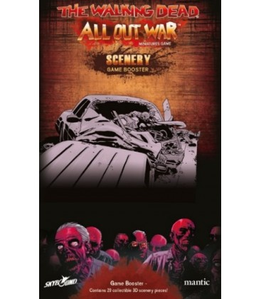 The Walking Dead: Escenografía
