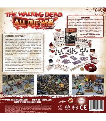 The Walking Dead: All Out War (Caja Básica)