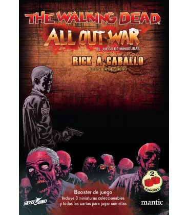 The Walking Dead: Rick a Caballo