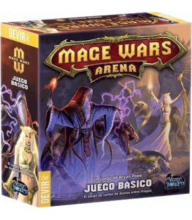Mage Wars: Arena (Con Manual y Cartas corregidas)