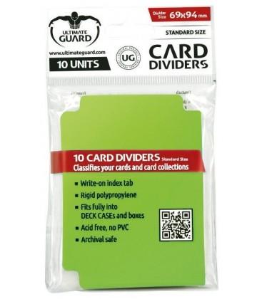 Tarjetas Separadoras Verde Claro (10)