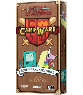 Hora de Aventuras Card Wars: BMO contra Lady Arcoíris