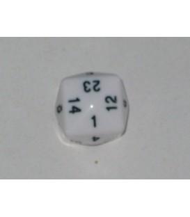 Dado 24 Caras (Blanco)