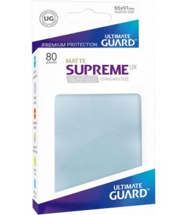 Fundas Ultimate Guard (66x91mm) SUPREME MATTE UX - Transparente (80)