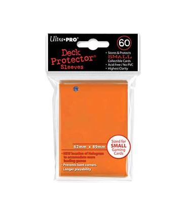 60 Fundas Ultra Pro (62x89mm) Mini Deck Protector - Naranja