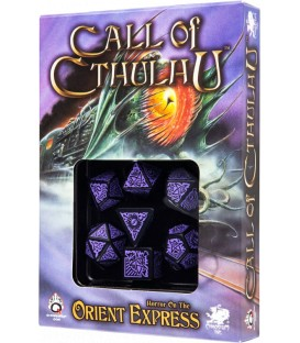 Q-Workshop: Call of Cthulhu - Horror On The Orient Express (Morado/Negro)