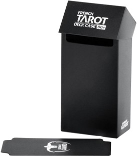 Deck Case French Tarot 80+ Negro Ultimate Guard