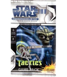 Star Wars Pocketmodel TCG: Sobre Clone Wars (Tactics)