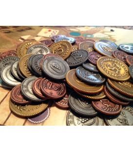 Viticulture: 72 Monedas Metálicas