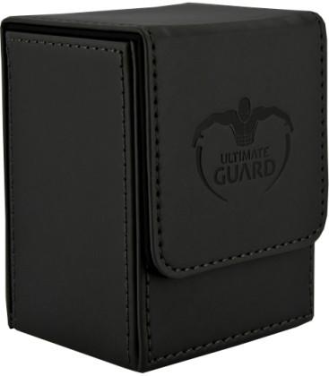 Deck Case Leatherette 80+ Negro Ultimate Guard