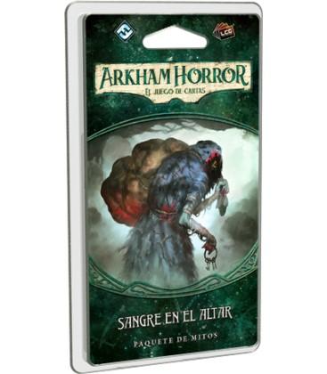 Arkham Horror LCG: Sangre en el Altar / El Legado de Dunwich 3