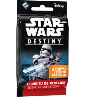 Star Wars Destiny: Espíritu de Rebelión (Sobre de Ampliación)