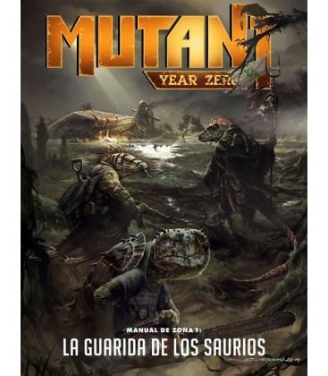 Mutant Year Zero: Manual de Zona 1 - La Guarida de los Saurios