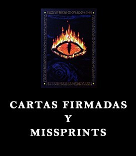 Cartas Firmadas y Missprints