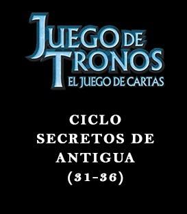 Ciclo Secretos de Antigua (31-36)
