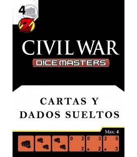 Civil War: Cartas y Dados sueltos en Castellano / Italiano