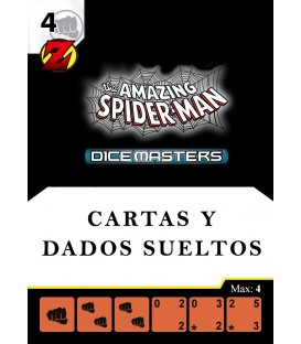 The Amazing Spider-Man: Cartas y Dados Sueltos en Inglés