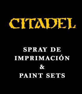 Spray de Imprimación + Paint Sets